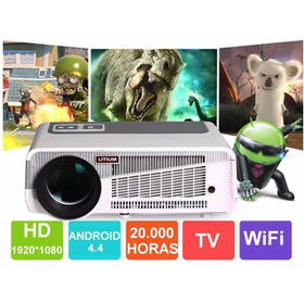 Proyector Litium 86 Hd Led  Wifi Hdmi 1280x800