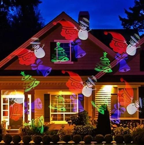 proyector luces navidad figuras interior exterior vs agua