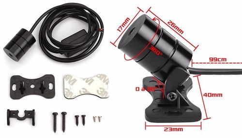 proyector luz laser anti niebla moto carro +obsequio