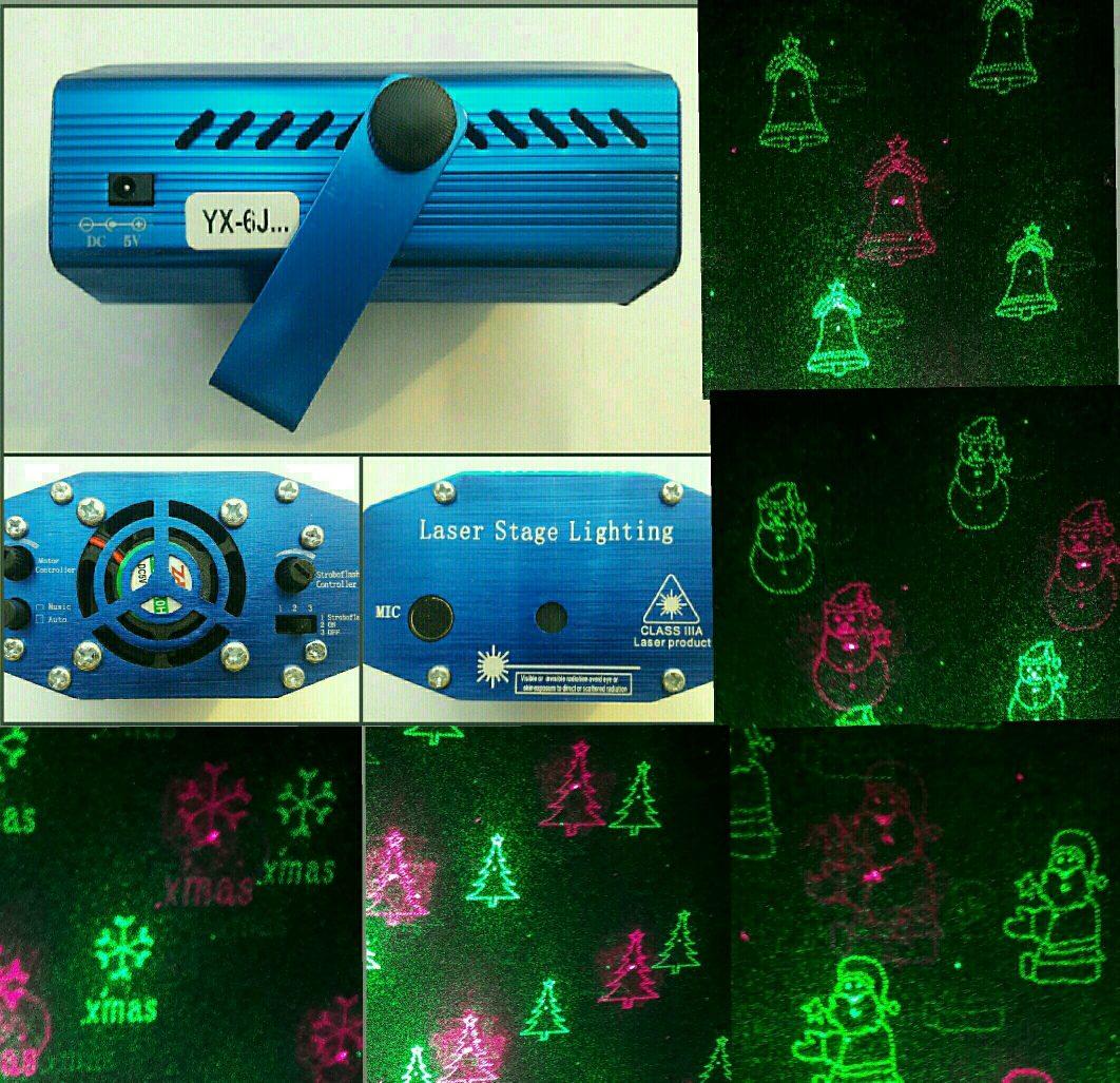 8ba44c90e93 Proyector Luz Láser Navidad 6 Figuras Navidenas -   18.000 en ...