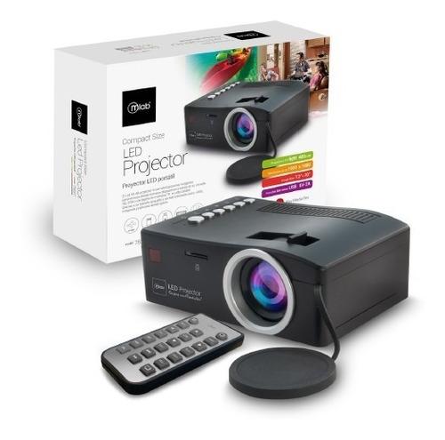 proyector microlab 07837 led 400 lumen .: mundotecno :.