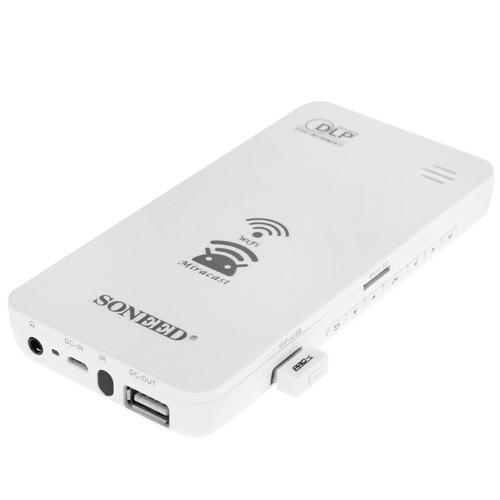 proyector mini inalambrico wifi cine movil multimedia dlp
