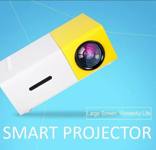 proyector mini portatil de bolsillo con tripode