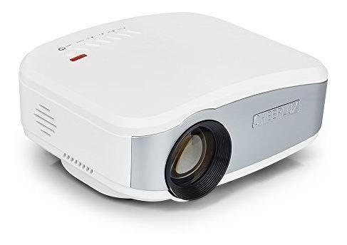proyector, mini proyector del lcd del vídeo de las multimedi