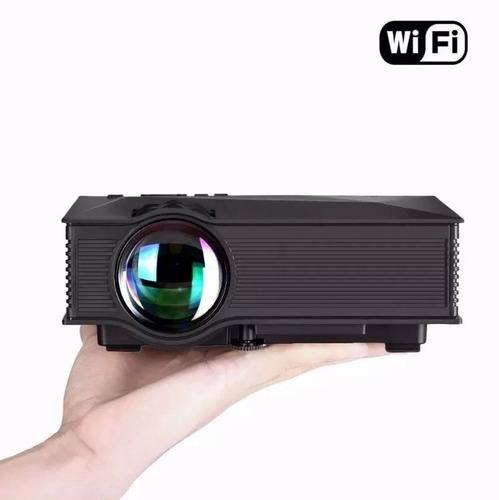 proyector mini uc46 1200 lumens wifi portatil led hd hdmi