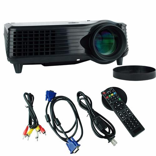 proyector multimedia high view 2800 lúmenes con tv