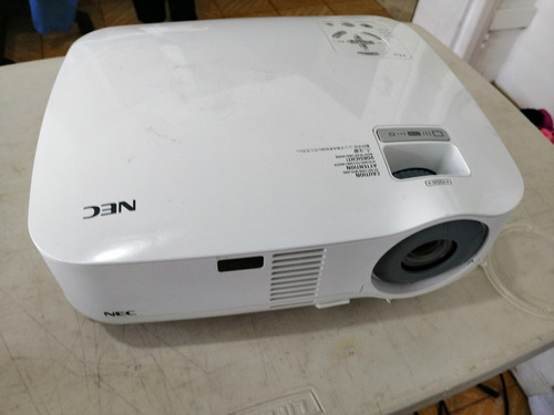 proyector nec resolución hd 2000 lumes nitido