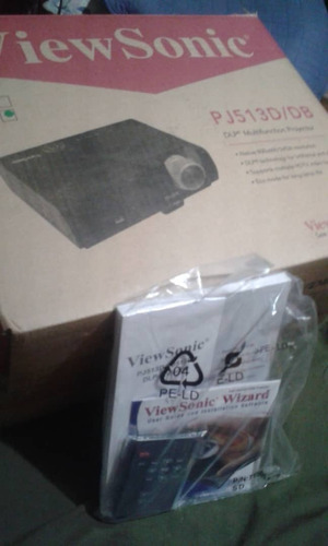 proyector o vídeo beam viewsonic pj513d