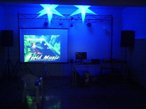 proyector pantalla servicio