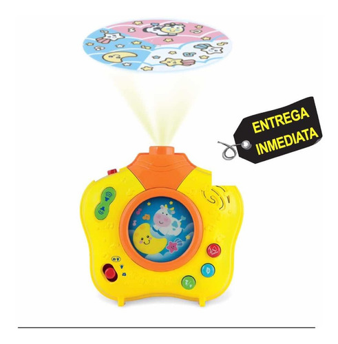 proyector para bebes de luces - unidad a $70000