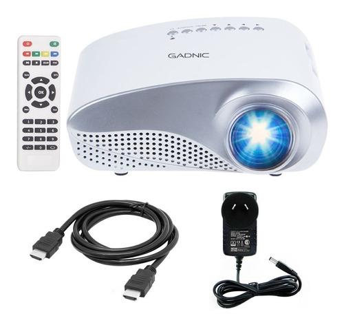 proyector portatil gadnic 60 lumens 100  hdmi sintonizador