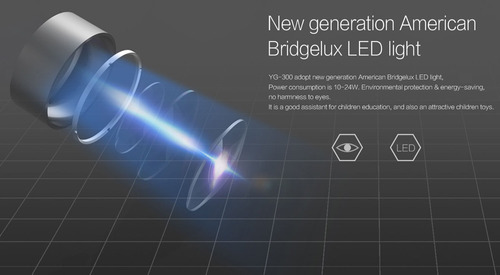proyector portatil mini led hd yg300 rca hdmi tv video cine
