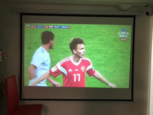 proyector profesional led full hd 3500 lumens tv digital msi