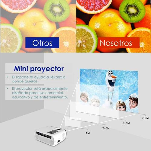 proyector profesional led portátil full hd multipuertos