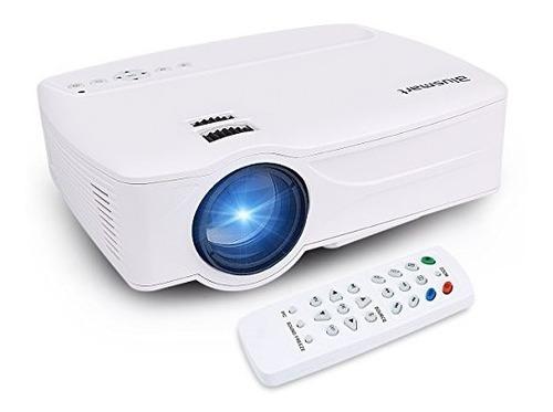 proyector, proyector de video casero blusmart led-9, proyect