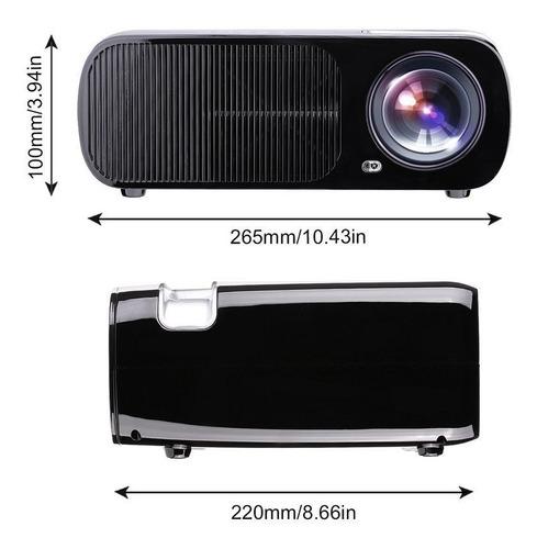 proyector, proyector de vídeo de leshp 1080p hd home theater