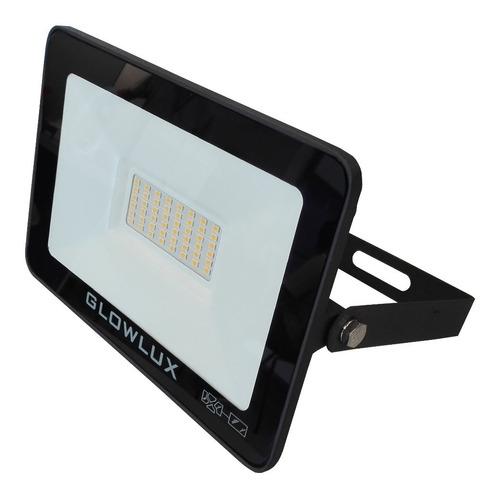 proyector reflector eco led 50w luz cálida - glowlux - e. a.