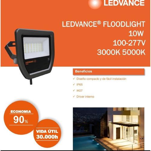 proyector reflector ledvance osram floodlight 30w/850