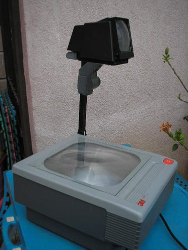 proyector, retroproyector acetatos 3m uso rudo abre 7 mts