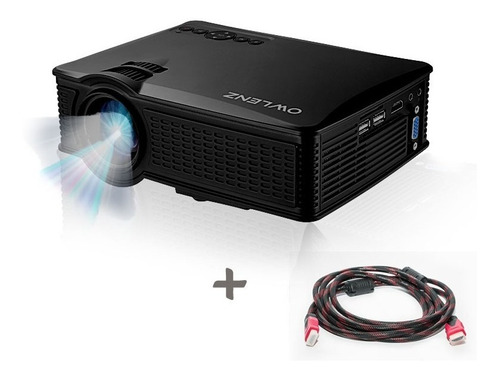 proyector sd60 wifi 1500 lms owlenz 150  + cable hdmi gratis