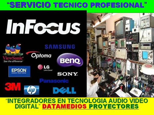 proyector servicio técnico mantenimiento preventivo in-site