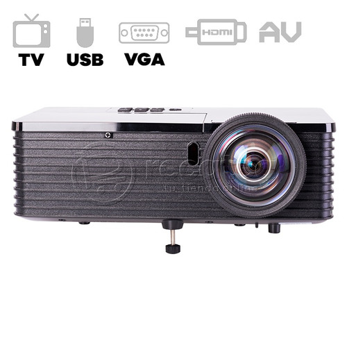 proyector tv led s80 3500 lumens 300'' + gafas 3d + envío