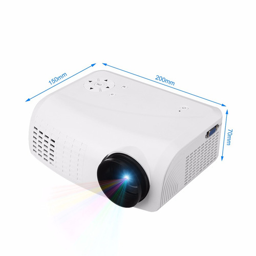 proyector video beam hd alta definición hdmi vga usb 1500 lm