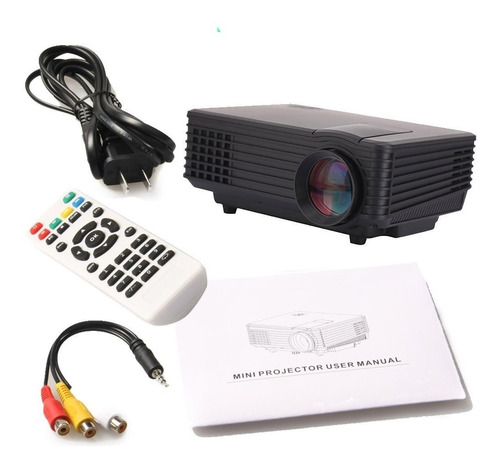 proyector video beam hdmi sd usb entrada rca de 800 lumenes