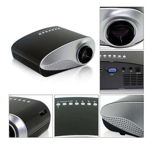 proyector video beam hdmi sd usb entrada rca hasta 100 pulg