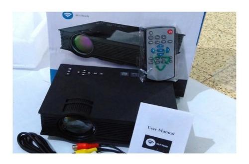 proyector video beam led wifi 80 anslum hdmi negro full hd