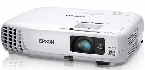 proyector videobeam epson 730hd alta definición hd vs335w