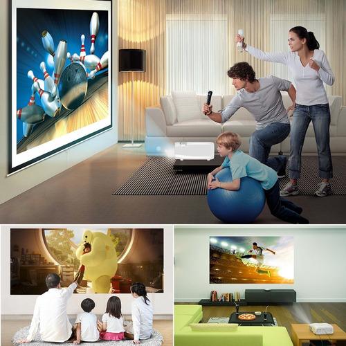 proyector videobeam led 2600 lumenes 1080 p hdmi vga envioya