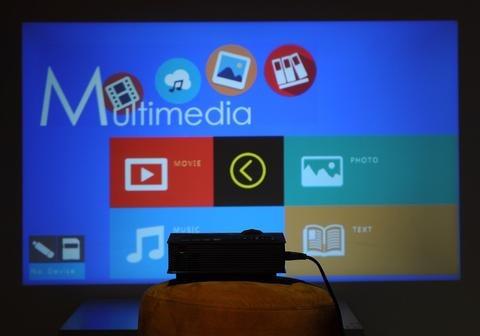 proyector wifi led unic hdmi envio gratis