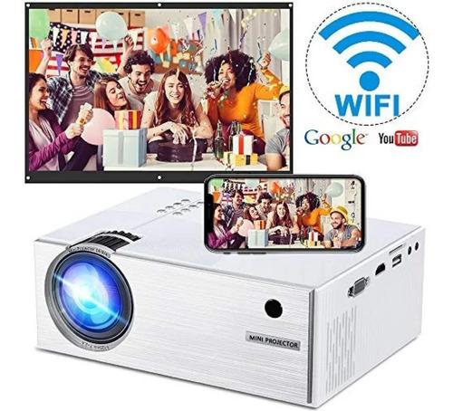 proyector wifi unic uc46 1200lumens 120 pulgadas full hd
