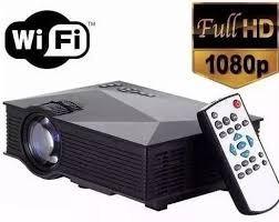 proyector wifi unic uc46 1200lumens 140 pulgadas full hd