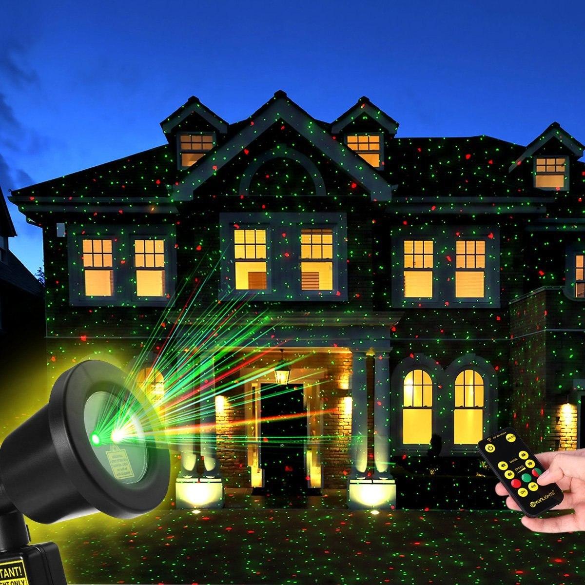 406375b8b60 Proyectores De Luces Navideñas Con Control Remoto De Rf ...