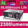 Proyector Multimedia Led 2300 Lumens / Hdmi Parlantes Usb