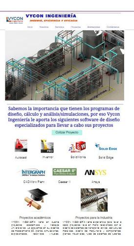 proyectos - asesorias solidworks, inventor, autocad