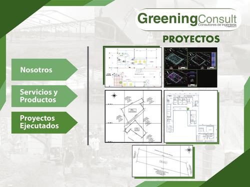 proyectos de ingeniería planos de topografía y arquitectura