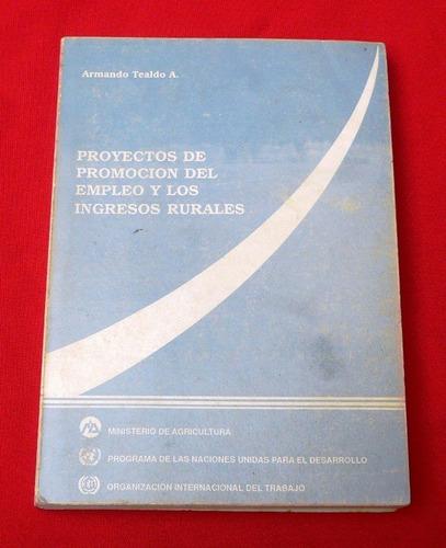 proyectos de promoción del empleo y los ingresos rurales