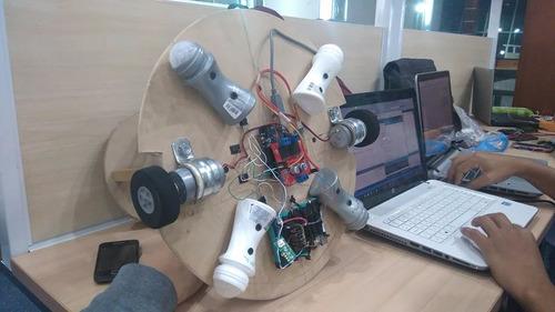 proyectos electrónicos arduino pic avr matlab, labview