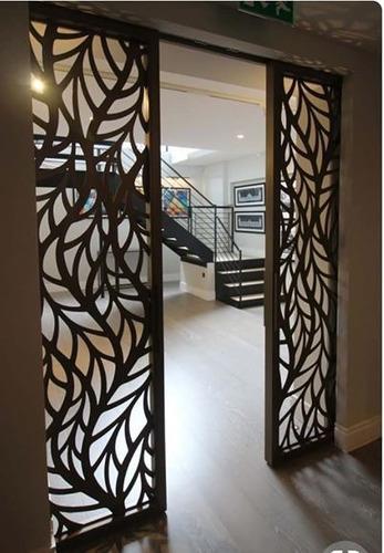 proyectos en chapa calada;puertas,escaleras,pergolas,objetos