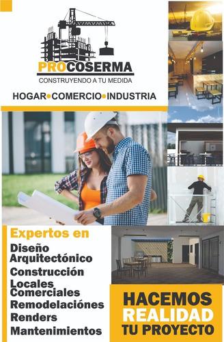 proyectos, renders, construcción y remodelaciones