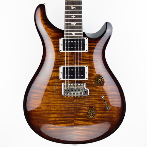 prs custom 24 2012 - core usa - black gold - pattern regular