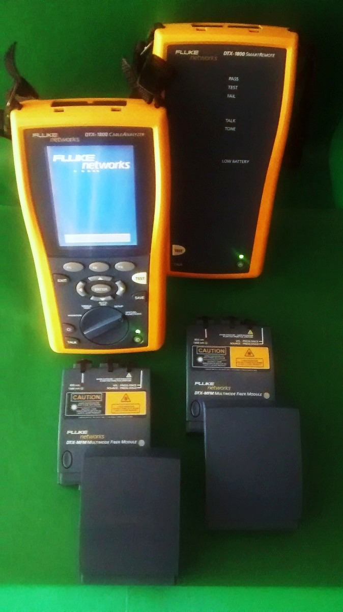 Fluke dtx 1800 guide   electrical connector   calibration.