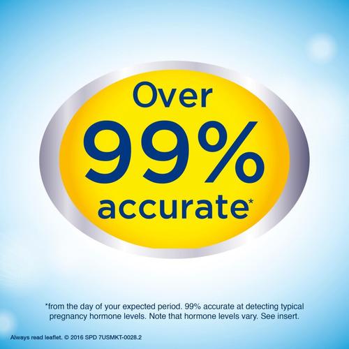 prueba de embarazo clearblue deteccion rapida 2piezas