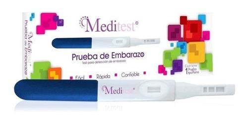 prueba de embarazo tipo pluma (detección en orina) meditest
