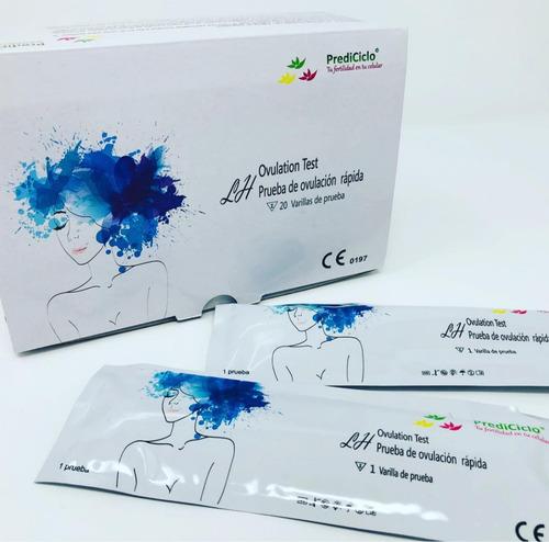 prueba de ovulación 40 piezas dos cajas de 20 (-15%)