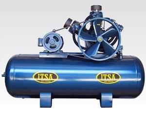 prueba hidráulica de compresores de aire y calderas.
