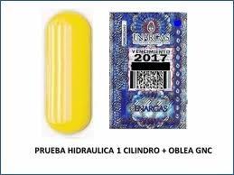 prueba hidráulica + obleas gnc